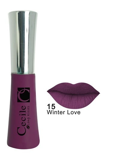 Cecile Long Kisses Lipgloss  15 Mor